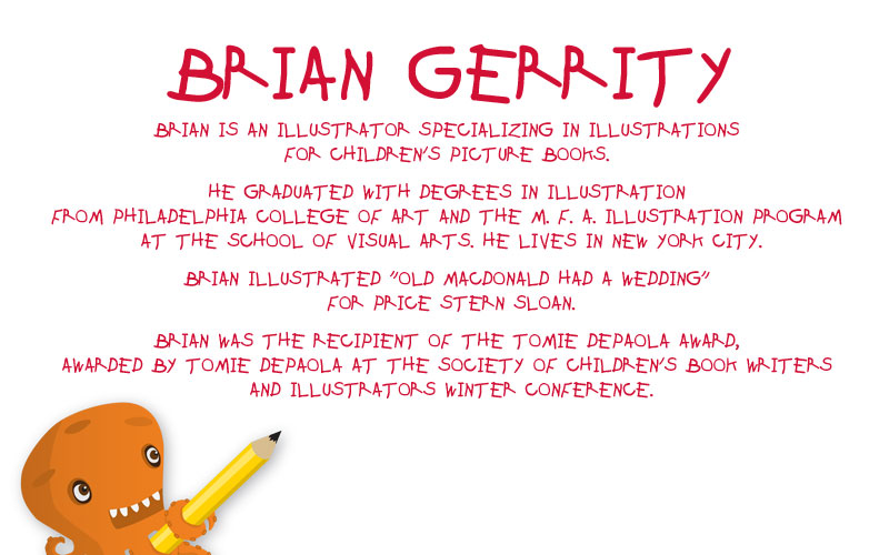 Brian Gerrity Children's Book Illustrator